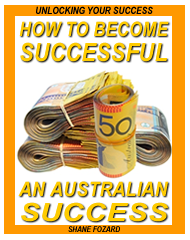 How to Become an Australian Success - E-Book Cover